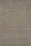 Rafia Granite Gray Wool Rug by Dalyn