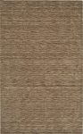 Rafia Taupe Brown Wool Rug by Dalyn
