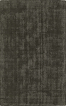 Laramie Charcoal Gray Wool Rug by Dalyn